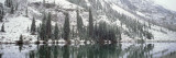 Reflection of Trees in a Lake, Maroon Lake, Maroon Bells, Aspen, Colorado, USA Wall Decal by  Panoramic Images