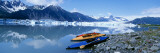 Kayaks by the Side of a River, Alaska, USA Wall Decal by  Panoramic Images