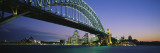 Sydney Harbor Bridge, Australia Wall Decal by  Panoramic Images
