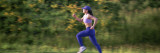 Woman Jogging Wall Decal by  Panoramic Images