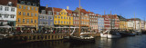 Buildings on the Waterfront, Nyhavn, Copenhagen, Denmark Wall Decal by  Panoramic Images