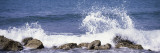Puerto Rico, Vieques, Water Splashing with Rocks on the Beach Wall Decal by  Panoramic Images
