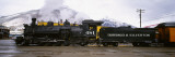 Steam Train on Durango and Silverton Narrow Gauge Railroad, Colorado, USA Wall Decal by  Panoramic Images