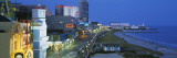 City Street Lit Up at Night, Atlantic City, New Jersey, USA Wall Decal by  Panoramic Images