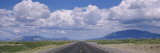 Empty Road Running through a Landscape, Highway 54, New Mexico, USA Wall Decal by  Panoramic Images