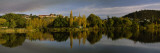 Reflection of Trees in Water, New Norfolk, Tasmania, Australia Wall Decal by  Panoramic Images