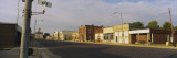 Empty Road Passing through a Town, Cottonwood Falls, Kansas, USA Wall Decal by  Panoramic Images