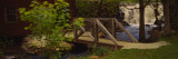 Footbridge over a Stream, Wile Carding Mill, Bridgewater, Nova Scotia, Canada Wall Decal by  Panoramic Images