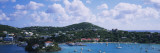 Sailboats in the Sea, Cruz Bay, St. John, US Virgin Islands Wall Decal by  Panoramic Images