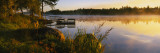 Reflection of Sunlight in Water, Vuoksi River, Imatra, Finland Wall Decal by  Panoramic Images