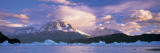 Cloudy Sky over Mountains, Lago Grey, Torres del Paine National Park, Patagonia, Chile Wall Decal by  Panoramic Images