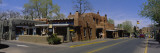 Buildings along a Road, Santa Fe, New Mexico, USA Wall Decal by  Panoramic Images