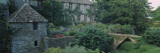 Garden in Front of a Castle, Beverston Castle, Gloucestershire, England Wall Decal by  Panoramic Images