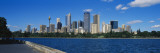 Skyscrapers along a Waterfront, Sydney, Australia Wall Decal by  Panoramic Images