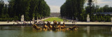 Fountain in a Garden, Versailles, France Wall Decal by  Panoramic Images