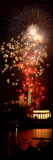 Fireworks over Lincoln Memorial, Washington D.C., USA Wall Decal by Panoramic Images