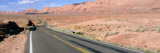 Road Running through a Desert, Vermilion, Utah, USA Wall Decal by  Panoramic Images