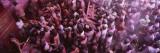 People Celebrating Holi, Braj, Mathura, Uttar Pradesh, India Wall Decal by  Panoramic Images