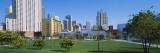 Garden in Front of Buildings, Yerba Buena Gardens, San Francisco, California, USA Wall Decal by  Panoramic Images