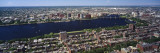 Aerial View of Back Bay, Cambridge, Boston, Massachusetts, USA Wall Decal by  Panoramic Images