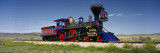 Train Engine on a Railroad Track, Jupiter, Golden Spike National Historic Site, Utah, USA Wall Decal by  Panoramic Images