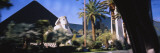 Sphinx in Front of a Pyramid at a Hotel, Luxor Hotel, Nevada, USA Wall Decal by  Panoramic Images