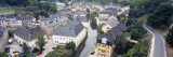 Buildings in Luxembourg City, Luxembourg Wall Decal by  Panoramic Images