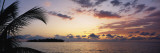 Sea at Dusk, Negril, Jamaica Wall Decal by  Panoramic Images