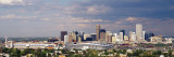 Skyline with Invesco Stadium, Denver, Colorado, USA Wall Decal by  Panoramic Images