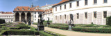 Tourists in a Garden, Valdstejnska Garden, Mala Strana, Prague, Czech Republic Wall Decal by  Panoramic Images