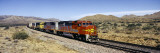 Train on Santa Fe Railroad Track, Arizona, USA Wall Decal by  Panoramic Images