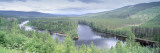 River Passing through a Landscape, Dalalven River, Dalarna, Sweden Wall Decal by  Panoramic Images
