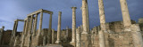 Columns of Buildings in an Old Ruined Roman City, Leptis Magna, Libya Wall Decal by  Panoramic Images