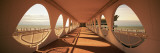 Corridor of a Building, Lignano Sabbiadoro, Italy Wall Decal by  Panoramic Images