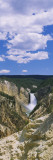 Waterfall in a National Park, Yellowstone National Park, Wyoming, USA Wall Decal by  Panoramic Images