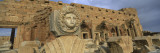 Statue in an Old Ruined Building, Leptis Magna, Libya Wall Decal by  Panoramic Images