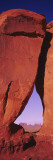 Natural Arch at a Desert, Teardrop Arch, Monument Valley Tribal Park, Monument Valley, Utah, USA Wall Decal by  Panoramic Images