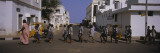 School Children Crossing the Road, Pondicherry, India Wall Decal by  Panoramic Images