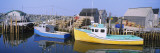 Reflection of Motorboats in Water, West Berlin, Nova Scotia, Canada Wall Decal by  Panoramic Images