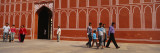 Group of People in Front of a Palace, City Palace, Jaipur, Rajasthan, India Wall Decal by  Panoramic Images