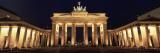 Brandenburg Gate, Berlin, Germany Wallsticker af Panoramic Images,