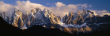 Snowcapped Mountain Peaks, Dolomites, Italy Wall Decal by  Panoramic Images