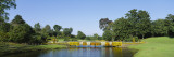 Bridge over a Lake, Bellingrath Gardens and Home, Theodore, Alabama, USA Wall Decal by  Panoramic Images