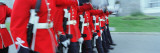 Guards Marching with Rifles, Changing of the Guard, Quebec City, Quebec, Canada Wall Decal by  Panoramic Images