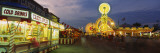 Tourists at an Amusement Park, Erie County Fair, Hamburg, Erie County, New York, USA Wall Decal by  Panoramic Images