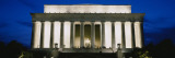 Memorial Lit Up at Night, Lincoln Memorial, Washington DC, USA Wall Decal by Panoramic Images