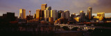 Buildings at the Waterfront, Bow River, Calgary, Alberta, Canada Wall Decal by  Panoramic Images
