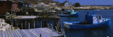 Boats Moored at a Harbor, Lower Prospect, Nova Scotia, Canada Wall Decal by  Panoramic Images