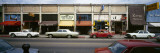 Cars Parked in a Row in Front of a Building, Berkeley, California, USA Wall Decal by  Panoramic Images