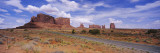 Road Passing Through a Desert, Monument Valley Tribal Park, USA Wall Decal by  Panoramic Images